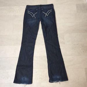 William Rast Jeans Sz 28 Stella Slim Boot Dark